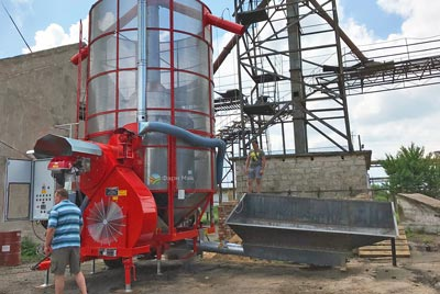 Зерносушилка Large 270 и теплогенератор ТПК 15